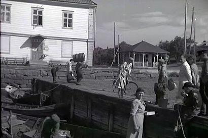 Tämä on helmi! Hyppää aikakoneeseen ja katso videopätkä Raahesta vuodelta 1946