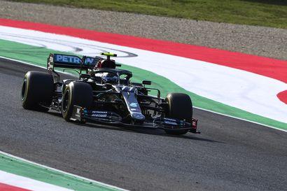 """Ykköseksi harjoituksissa kiitänyt Bottas hehkutti Mugellon F1-rataa – """"Nautin todella jokaisesta kierroksesta"""""""