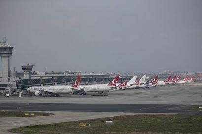 Aasiassa lentokoneiden rykelmä on jo palannut kartalle – Suomen taivaalla ei juurikaan matkustajaliikennettä