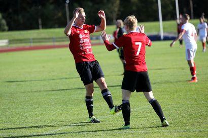 FC Raahe varmisti nousun kolmoseen