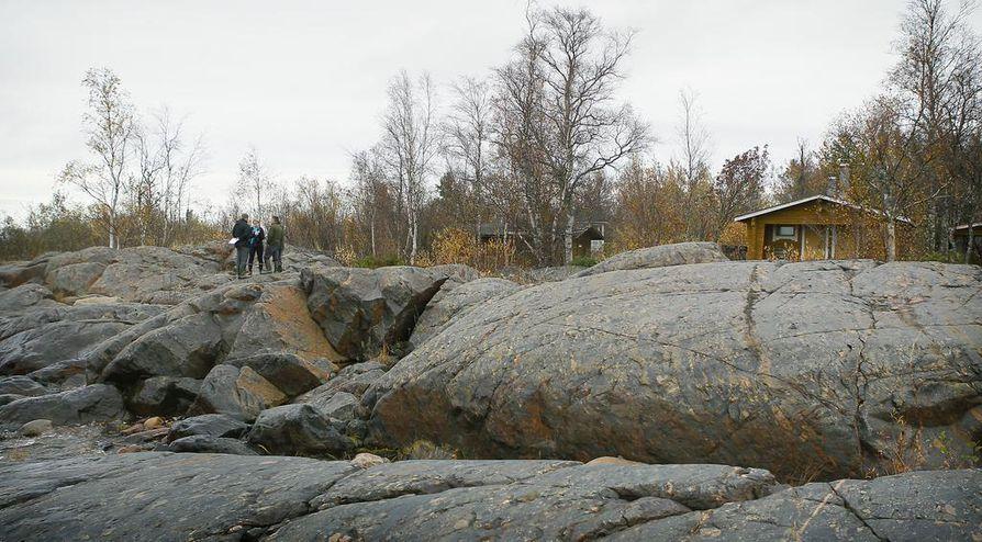 Arkistokuva Hanhikiven alueesta.