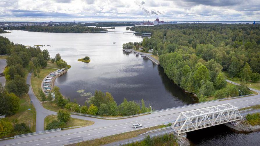 Asuntomessualue nousee Hartaanselän kummallekin puolelle. – Kun suunnittelun kohteena on huomattavan iso alue, on suunnitelmissa varmasti huomioitu myös rantojen ja puistojen sijoittaminen, toteaa Matti Matinheikki.