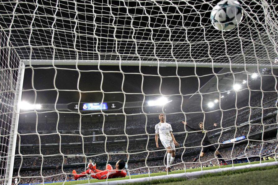 Real Madrid pelasi tiistai-iltana Mestarien liigassa, jonka pelejä näkee Suomessa Yleltä ja Viasatilta.