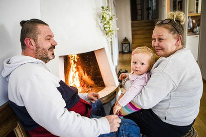 Biotakka on usein ainoa mahdollisuus saada aito tuli kerrostaloon – Satu Urasto löysi kuitenkin aivan Rovaniemen keskustasta haavekodin, jossa on oikea vuolukivitakka