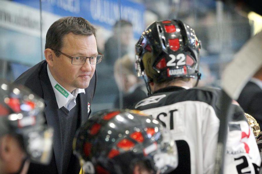 Mikko Haapakoski siirtyy SC Bernin apuvalmentajaksi. Arkistokuva.
