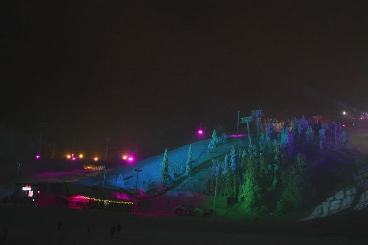Polar Night Light -festivaali alkoi Rukalla.