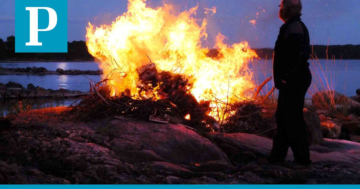 Metsäpalovaroitus
