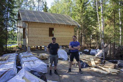 Simojokivarteen uusia mökkejä - Lapinkoski oy alkaa tarjota majoitusta kalastus- ja metsästysmatkailijoille