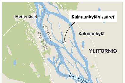 Ylitornion Kainuunkylässä on Tornionjoen suurin saaristo – Nyt ely-keskus hakee raivaajia ja laiduntajia arvokkaan tulvamaiseman kunnostukseen