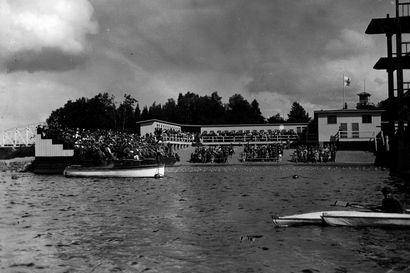 Linnansaaren uimalaitosta pidettiin Suomen upeimpana - maauimala Ouluun valmistui 1933 ja se purettiin 1959