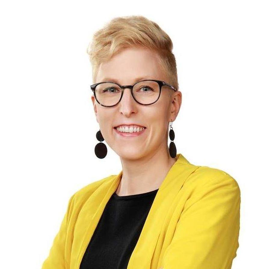 Tuija Patana aloittaa Oulun keskustan kunnallisjärjestön puheenjohtajana ensi vuonna.