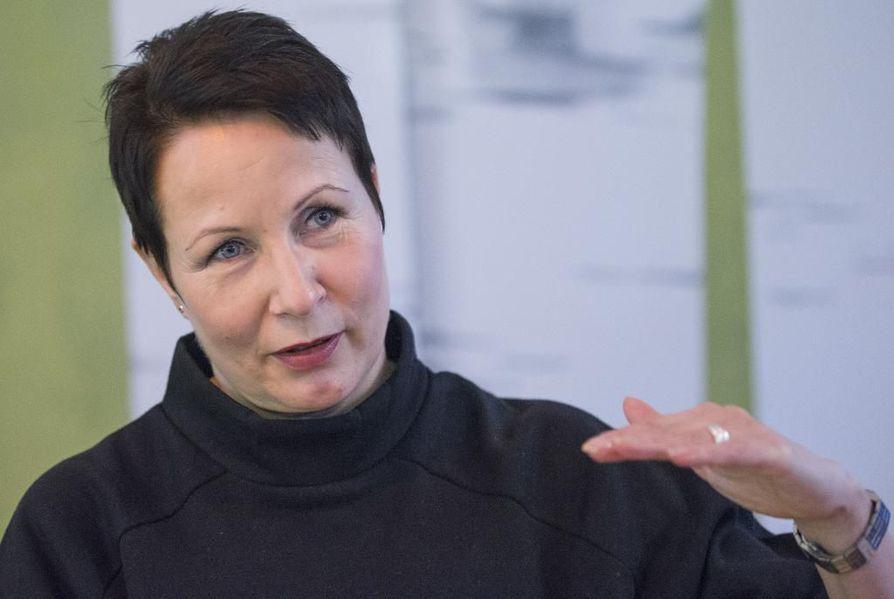 Suvi-Anne Siimes. Arkistokuva.