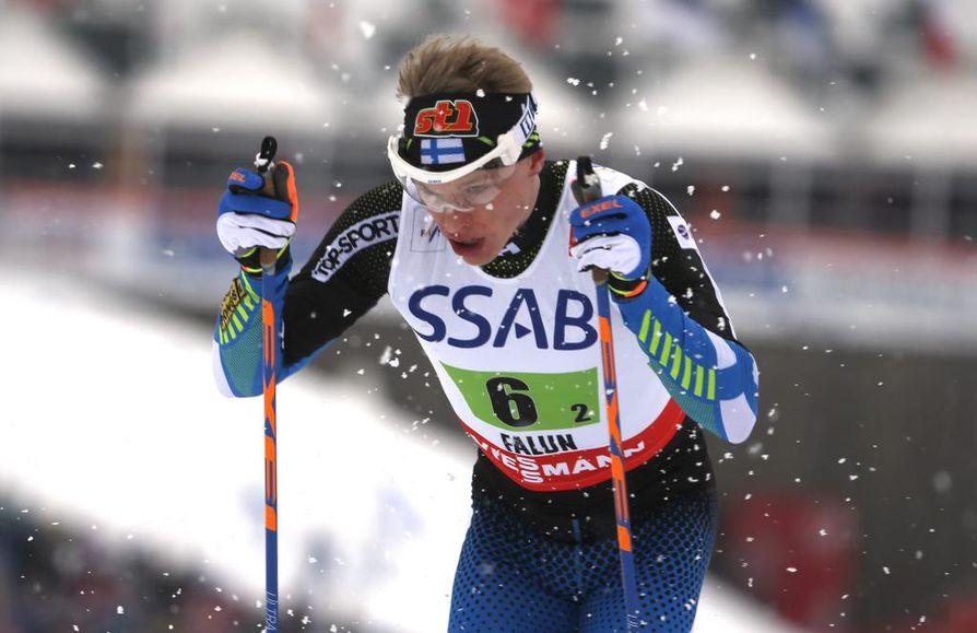 Perinteisellä hiihtotavalla hiihdettävän 50 kilometrin kisan oli tarkoitus olla Iivo Niskanen päämatka Falunissa.