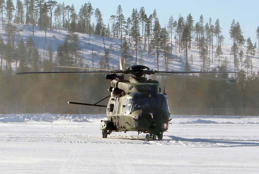 NH90-kopterit on saatu toimimaan ja niillä voi entää kaikenlaisissa keleissä. Norjassa tätä kopterityyppiä vasta kehitellään Jäämeren oloissa toimivaksi.