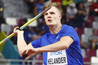Suomi on keihäänheitossa maailman ranking-kakkonen Saksan jälkeen