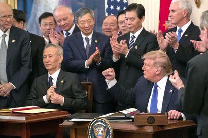 Nyt odotetaan, tekeekö USA myös EU-sovun? – USA:n kauppasopu Kiinan kanssa voi viedä EU-maiden yrityksiltä tilauksia