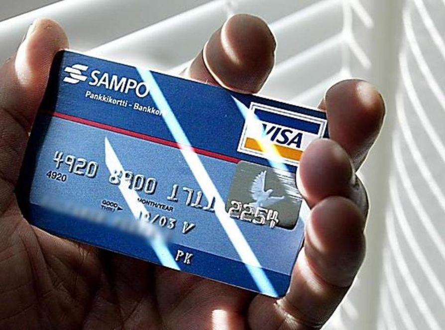 Älä anna luottokorttisi tai pankkitunnisteittesi tietoja puhelimitse tai sähköpostilla.