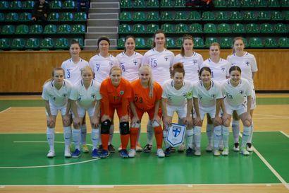 Ukraina voitti Suomen naiset