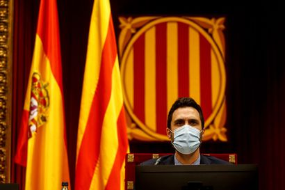 Katalonian parlamentin puhemies syyttää Espanjaa osallistumisesta puhelimensa salakuunteluun