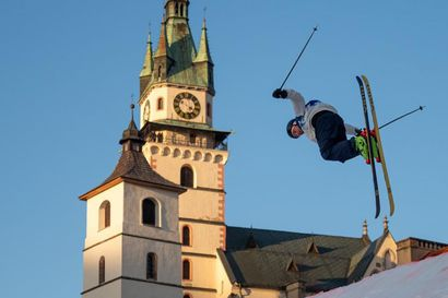 Rukalainen Miika Virkki sijoittui toiseksi Eurooppa Cupin big air -kisassa Slovakiassa