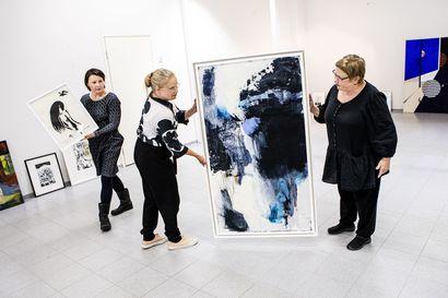 Matalan kynnyksen galleria avattiin kauppakeskus Revontuleen Rovaniemellä