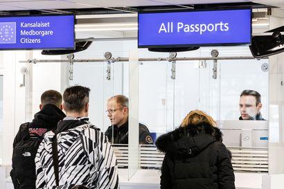 Yhden brittituristin rajatarkastus kestää minuutin – EU-eron myötä Lapin lentoasemista tuli unionin ulkoraja briteille