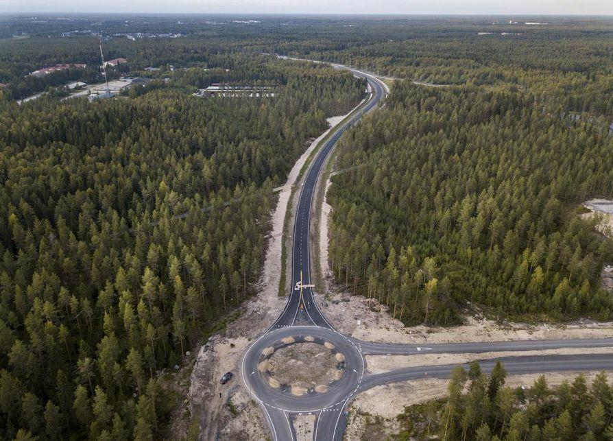 Raitotien jatko avataan liikenteelle maanantaina 10. syyskuuta.