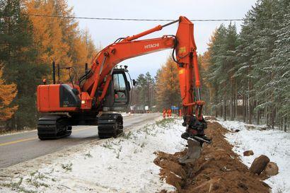 Valokuituverkon rakentaminen jatkuu, kun säät sen sallivat – näillä alueilla rakennetaan tänä kesänä