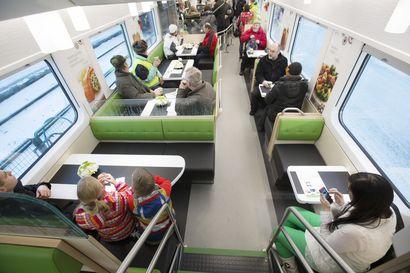 Päiväjunien ravintolavaunut palaavat raiteille vappuaattona, aukiolo riippuu lähtö- ja pääteasemien koronarajoituksista