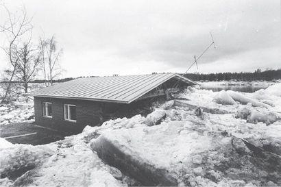 Tällaisia ovat olleet suurtulvat eri puolilla Lappia: rikkoutuneita siltoja, jäiden murskaamia omakotitaloja, saarroksiin jääneitä asuinalueita ja melkein hukkunut Arktikum
