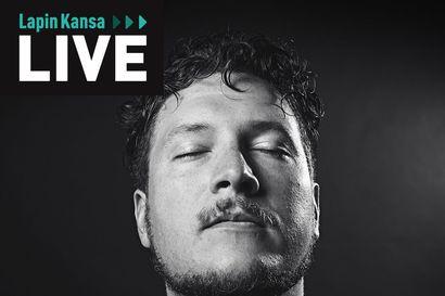 Lapin Kansa live: Katso rap-artisti Olli PA:n esitys suorasta lähetyksestämme