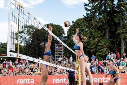 Kaksi naisparia mukaan beach volleyn EM-kisoihin - miehille ei paikkaa