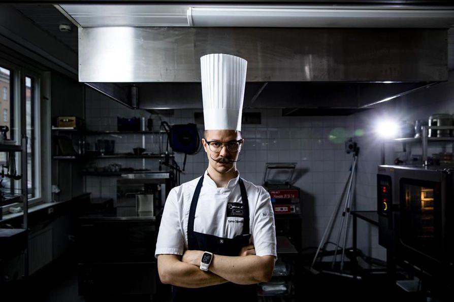 Kilpaileminen on keittiömestari Ismo Sipeläiselle tapa kehittyä ammatissaan.