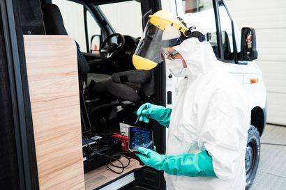 Rovaniemeläisyritykselle käyttöön viruksiin ja homeisiin tehoava desinfiointimenetelmä - laitteisto tuhoaa mikrobeja ilmasta ja pinnoilta