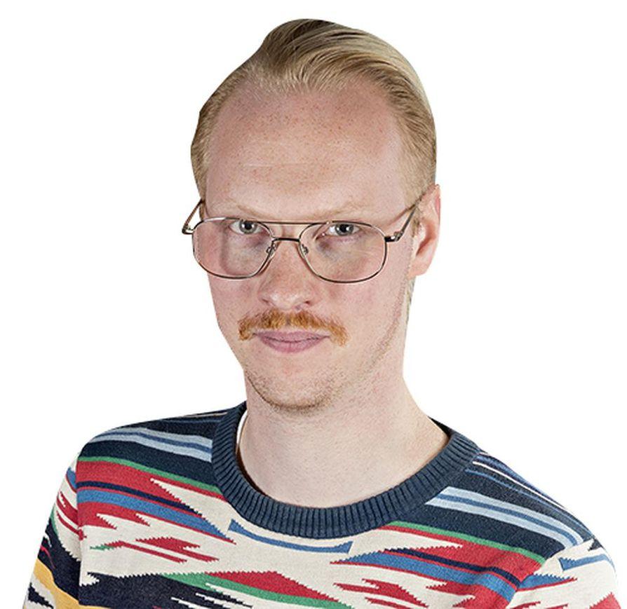Lännen Median toimittaja Daniel Wallenius.