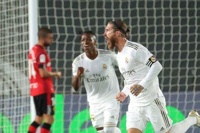 Kissa-hiiri-leikki jatkuu – Real Madrid nousi Barcelonan ohi Espanjan liigassa