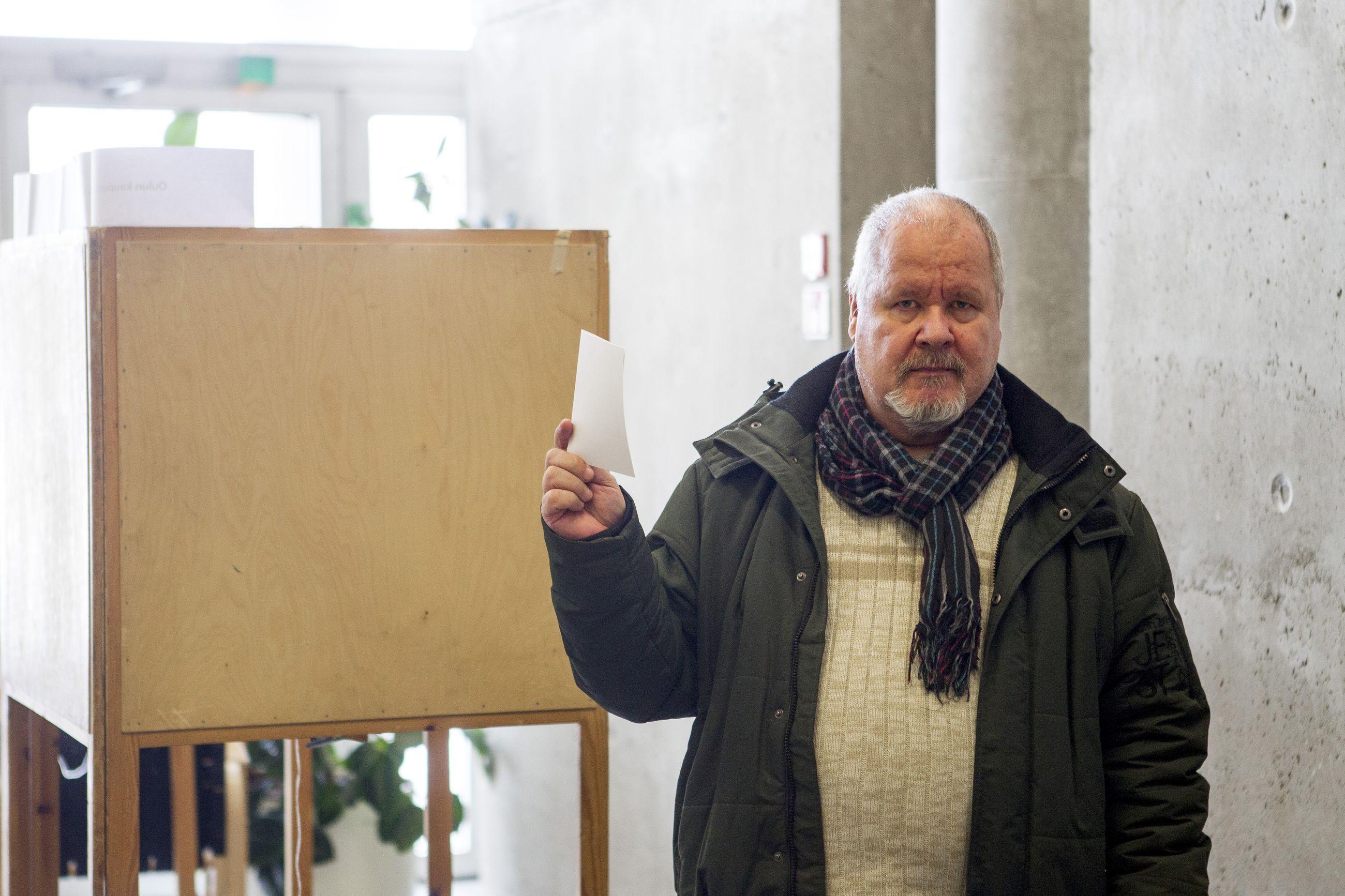 Ennakkoäänestys Järvenpää