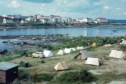 Näissä oloissa kauppalasta tuli kaupunki: Katso maakuntamuseon upeista kuvista, miltä Rovaniemi näytti 60 vuotta sitten