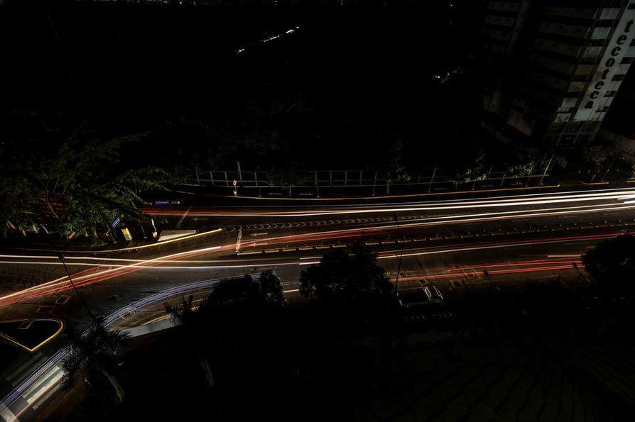 Venezuela kärsi mittavista sähkökatkoksista maalis- ja huhtikuun aikana.