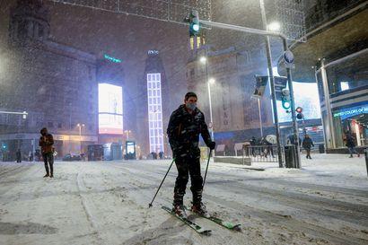 Neljä kuollut Filomena-myrskyssä Espanjassa – Madridissa satoi eniten lunta vuosikymmeniin, ihmiset jumittuivat autoihinsa jopa yöksi
