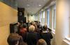 Helsingin hovioikeudessa MV-jutun käsittelyn alkamista oli seuraamassa runsaasti mediaa.