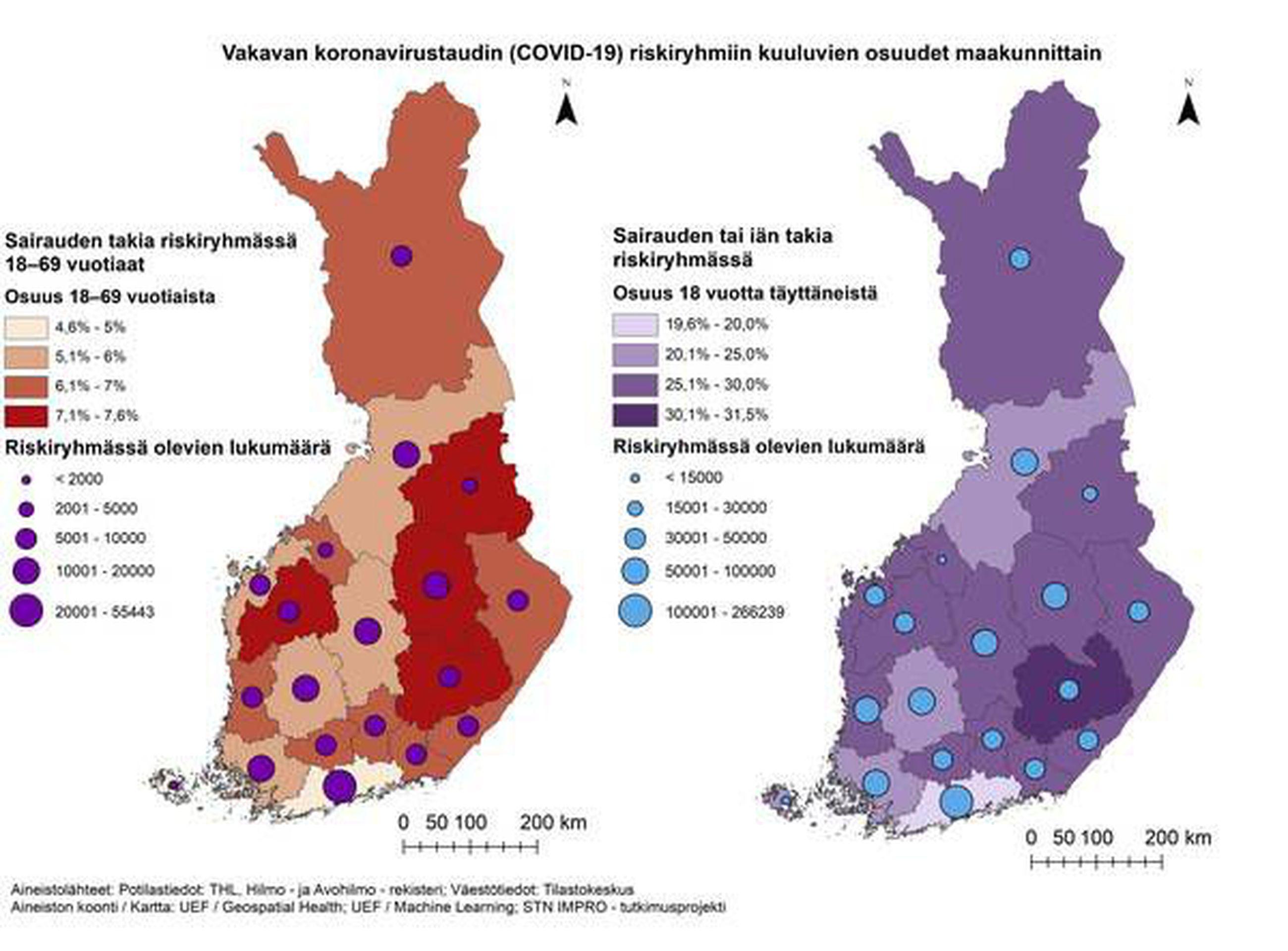 Posion Vaestosta Lahes 40 Prosenttia Kuuluu Koronaviruksen