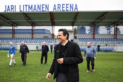 Eerikkilän stadionista tuli Jari Litmanen Areena – kunniakäytävällä esitellään suomalaisia jalkapallovaikuttajia