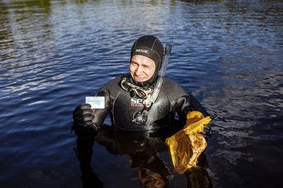 Moottorisahoja, polkupyöriä ja yksi punainen mersu –Rovaniemen Urheilusukeltajat on puhdistanut kaupungin uimarantoja jo yli vuosikymmenen