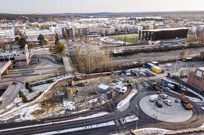Kiistelty silta toisi keskustaan lisää tilaa kerrostaloille Rovaniemellä – Ruokasenkadun silta on osa laajempaa hanketta