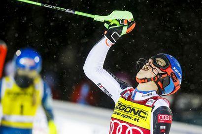 Petra Vlhova tuuletti tunteella voittoa Levillä ja oli iloinen, että kova kilpakumppani Mikaela Shiffrin on taas mukana