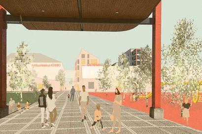 """Kemin keskusta-alueen suunnittelukilpailu on ratkennut – ensimmäinen palkinnon nappasivat """"Palokujat"""""""