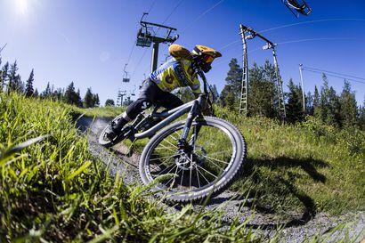 Kovaa ajoa ja tiukkoja mutkia – Ounasvaaran bike park halutaan Ylläksen ja Levin rinnalle vastaamaan kasvavaan pyöräilybuumiin