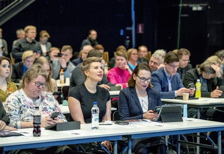 Kyselytunnilla käytiin vilkasta keskustelua vihreiden valtuustoryhmän aloitteesta.
