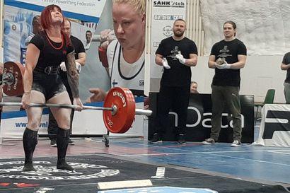 Essi Jäntti viides Oulun SM-lavalla